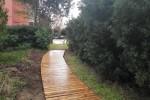 el-ayuntamiento-inicia-la-instalacion-de-vuevas-pasarelas-de-madera-en-la-zona-residencial-de-la-devesa