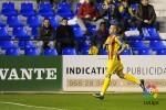 El Levante vence al UCAM Murcia (0-2).