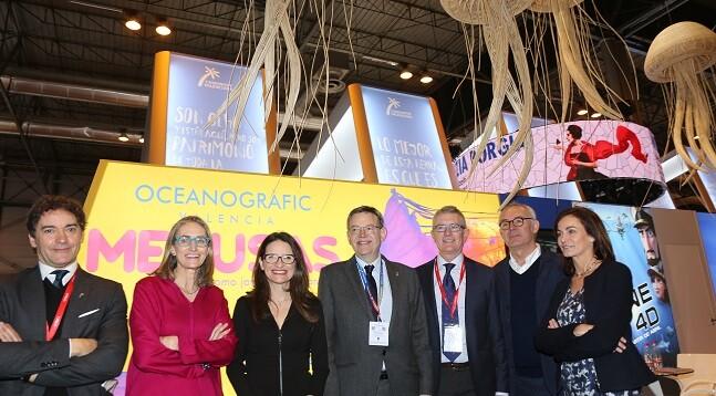 El Oceanogràfic participa en FITUR 2017 bajo el paraguas de la Agència Valenciana de Turisme.