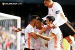 El Valencia CF se impone ante el Espanyol (2-1).