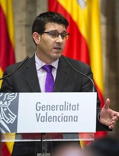 El presidente de la Diputación de Valencia, Jorge Rodríguez. (Foto-Abulaila).