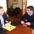 El presidente de la Diputación se reúne con el delegado del Gobierno para coordinar las ayudas a los municipios afectados por el temporal.