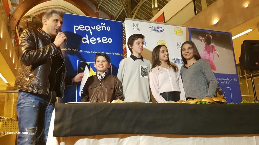 Exposición de Pequeño Deseo en las Cervezas del Mercado con los componentes valencianos de Masterchef junior (23)