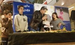 Exposición de Pequeño Deseo en las Cervezas del Mercado con los componentes valencianos de Masterchef junior (28)
