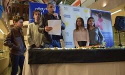 Exposición de Pequeño Deseo en las Cervezas del Mercado con los componentes valencianos de Masterchef junior (65)
