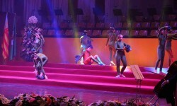 Fallas, Exaltación de Raquel Alario i Bernabé en el Palau de la Música (28)