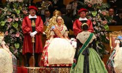 Fallas, Exaltación de Raquel Alario i Bernabé en el Palau de la Música (40)