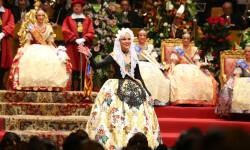 Fallas, Exaltación de Raquel Alario i Bernabé en el Palau de la Música (41)
