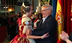 Fallas, Exaltación de Raquel Alario i Bernabé en el Palau de la Música (45)