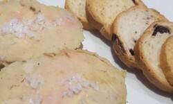 Foie gras micuit con mermelada de higos Reapertura de la arroceria la plaza (53)