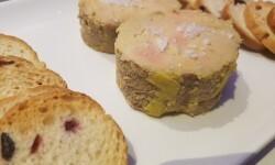 Foie gras micuit con mermelada de higosarroceria la plaza (40)
