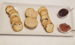 Foie gras micuit con mermelada de higosarroceria la plaza (49)