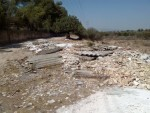 Foto Amianto en escombrera en Quart de Poblet