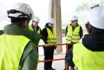 Ignacio Galan visita una instalación de Iberdrola en España