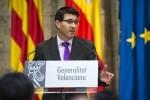 """Jorge Rodríguez-""""Con el Fondo de Cooperación cuadramos el círculo de la financiación de los municipios valencianos"""". (Foto-Abulaila)."""