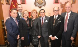Juan Carlos Cañabate, Fran Tochena, Amparo Fabra, Paqui Martorell, Jose Eduardo Puertes, Alfredo Esteve y Felix Crespo