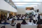 La Orquesta de Valencia interpreta para las personas enfermas del Hospital La Fe música de Vivaldi, Piazzola y Cold Play.