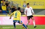 La UD Las Palmas se lleva la victoria frente al Valencia CF (3-1). (Foto-Lázaro de la Peña).