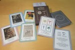 La colección cervantina de la Biblioteca ilustra la baraja de cartas de la Societat Bibliográfica Valenciana.