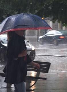 No se registraron problemas de inundación en la zona baja de la Avenida Pintor Pérez Gil.