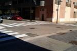 Nuevas barandillas de seguridad y pasos de peatones, repitado y pacificación del tráfico en La Torre.