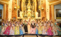 Ofrenda a nuestra Patrona la Virgen de los Desamparados de las falleras mayores (5)