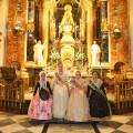 Ofrenda a nuestra Patrona la Virgen de los Desamparados de las falleras mayores (7)