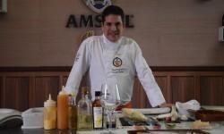 Pintxos Experience de Amstel Oro reúne a cinco de los mayores exponentes de la cocina en miniatura en el Veles e Vents Valenci (58)