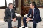 Puig solicita el compromiso del Gobierno para reponer los servicios públicos y subsanar las pérdidas ocasionadas por el temporal.