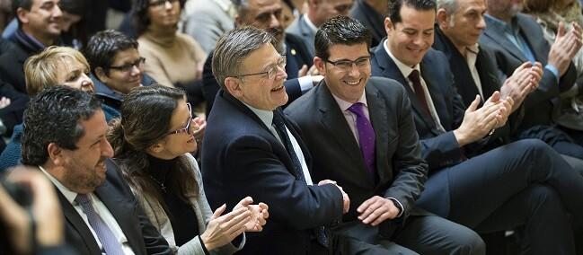 Puig y Rodríguez en la reunión del Fondo Cooperación (Foto-Abulaila).