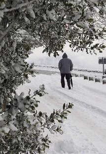 Se prevé un importante descenso de las temperaturas para el martes 17.