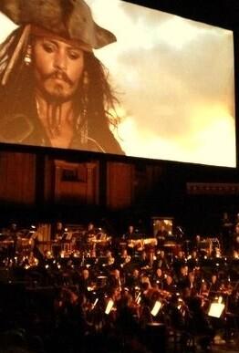 Será la primera vez que la Orquesta de Valencia ofrece un concierto de cine en este formato.