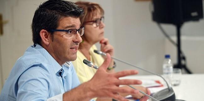 Tal y como avanzó Jorge Rodríguez, los ayuntamientos contarán con el apoyo de la Corporación para la solicitud de ayudas que palien los estragos causados por las fuertes lluvias (Foto Abulaila).