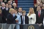 Tras jurar como presidente de EE.UU. Donald Trump ofreció un discurso cargado de patriotismo.