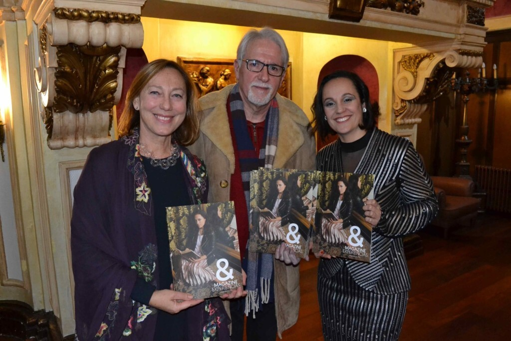 Yvonne Bacas, Pere Ribera y Patricia Mir