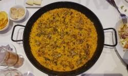arroz de pato confitado,con boletus miqui y ajetes y al aroma de Foie gras micuit arroceria la plaza (115)