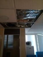 techo sala celadores