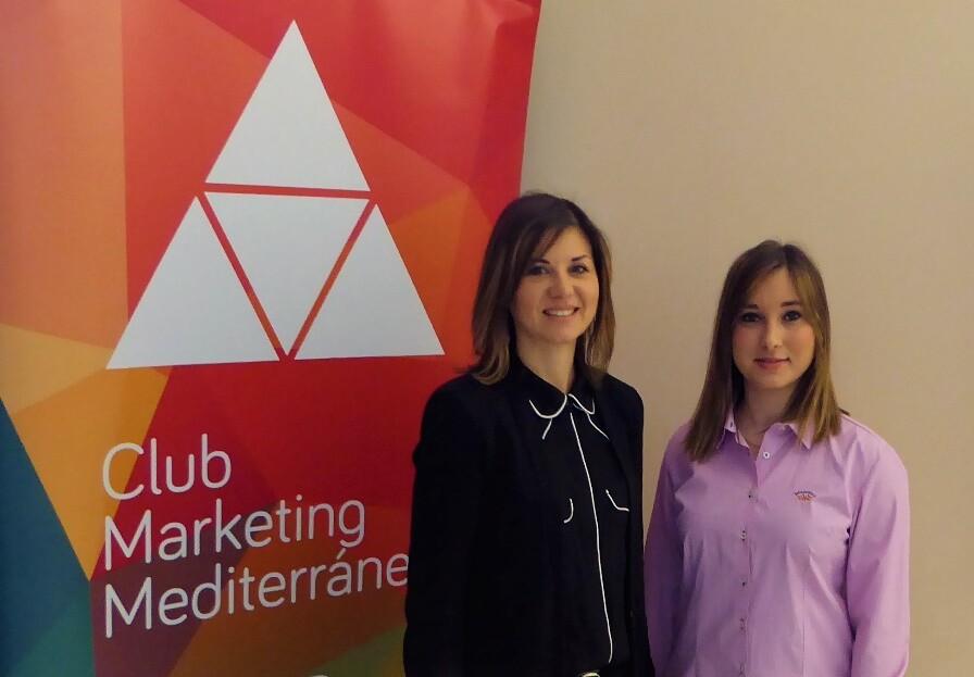 Serezade Enguídanos junto a MªDolores Parra, Directora de Internalización de la Generalitat Valenciana
