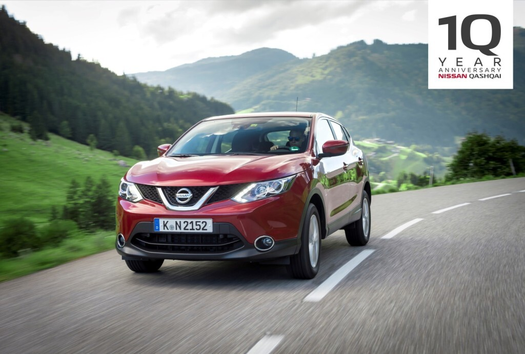 Nissan Qashqai 10th Birthday