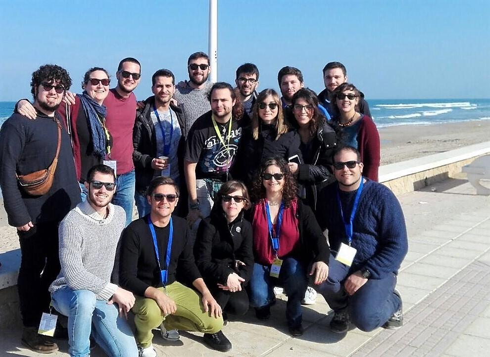 La Comisión Permanente del CJCV junto a representantes de otros Consejos de la Juventud