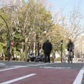Abiertas tres nuevas conexiones de la red ciclista de Valencia.