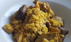 Arroz meloso de pato con setas (5)