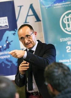 Bartolomé Nofuentes en la Startup Europe Week. (Foto-Abulaila).