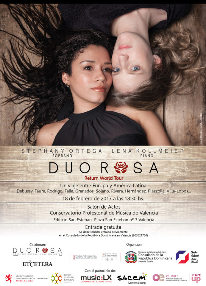 Cartel DUO Rosa - version definitiva