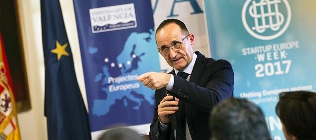 Cerca de 40 localidades de la provincia organizan junto a la Diputación una serie de actos en el marco de la financiación europea a la innovación. (Foto-Abulaila).