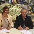Convenio de colaboración entre la Fundación CV del Pacto por el Empleo y el Gremio de Artistas Falleros.