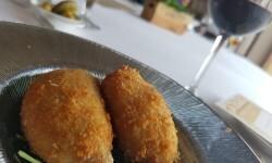 Croquetas de bechamel con confit de pato (7)