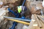 El Ayuntamiento ha renovado 1.116 Km de tuberías de agua potable con una inversión de 446.000 euros.