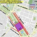 El Ayuntamiento informa sobre los cortes de tráfico de mañana sábado 25 de febrero.