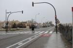 El Ayuntamiento pone en funcionamiento el prmer paso de peatones de la avenida de las Gaviotas.